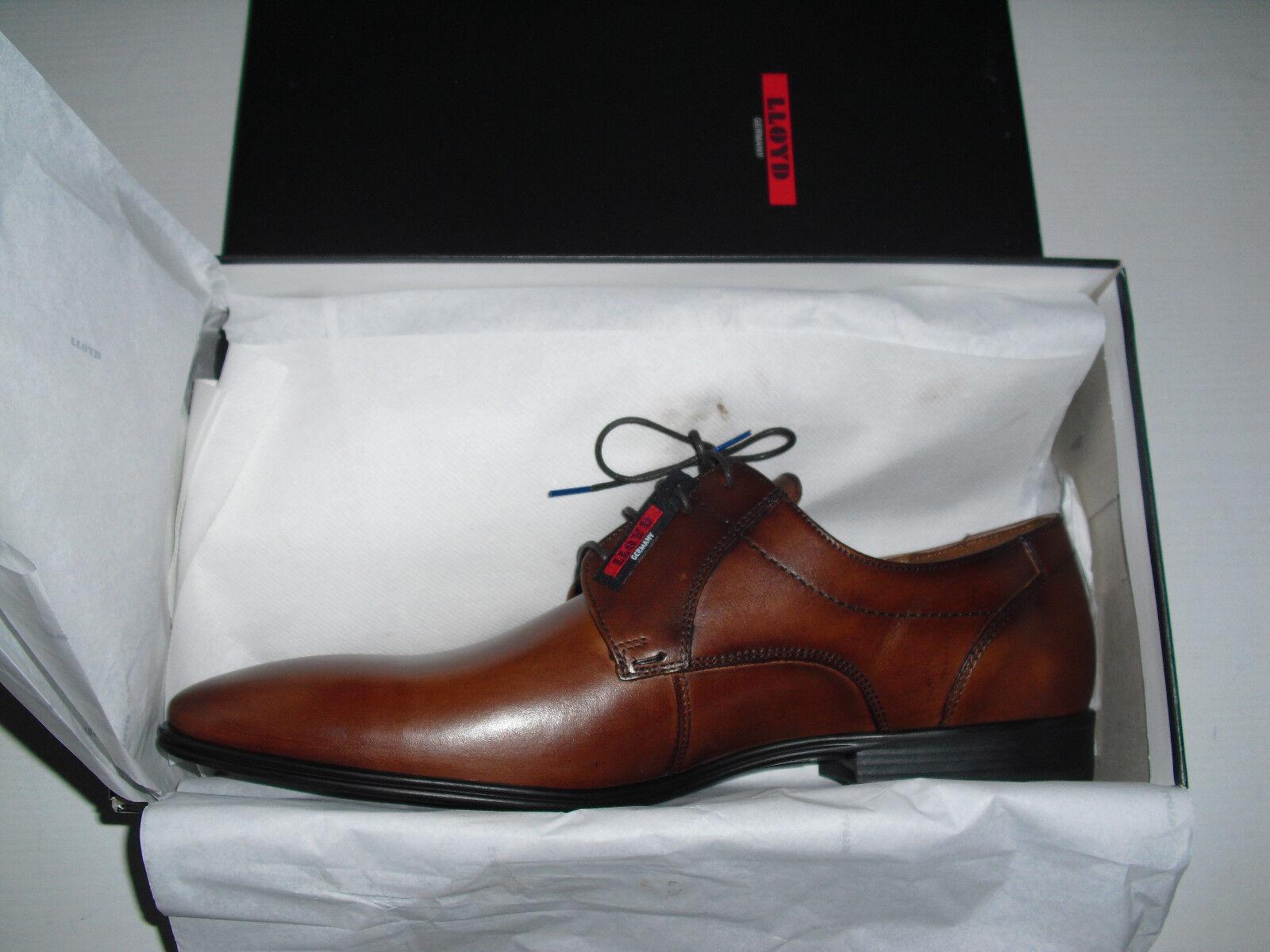 430e7407ee6561 Lloyd Osmond Gr 48 NEU Herren Schuhe 27-558-13 Business Schnürschuhe Leder  braun