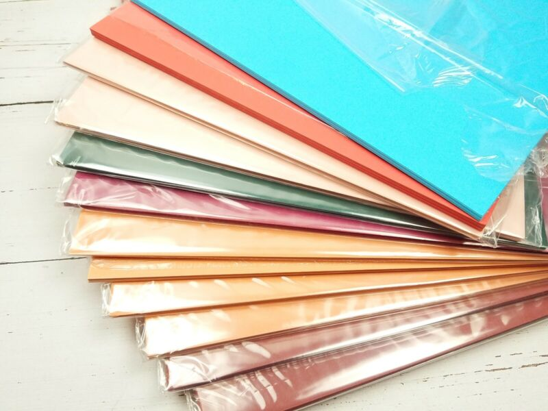 Stampin Up 10 SHEETS 8-1/2 X 11 Card Stock Cardstock Paper RETIRED choose color!