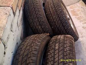 Othertyres and rim sizes 195/ 65/ r14 set of 4 Greenmount Mundaring Area Preview