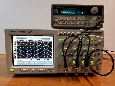 Hp Agilent Keysight Infinium Oscilloscope 54825a 4-channels 500mhz 2gsas