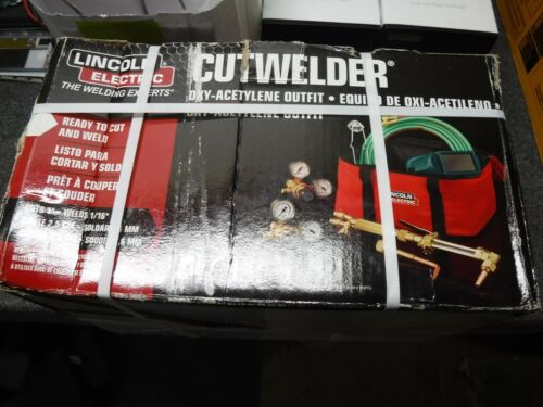 *NEW* Lincoln Electric Oxygen and Acetylene Torch Cut / Welder Kit ( KH995 )