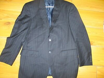 Giorgio Cosani Italy Men's Blue Striped Suit Jacket Blazer Size Sz 40R
