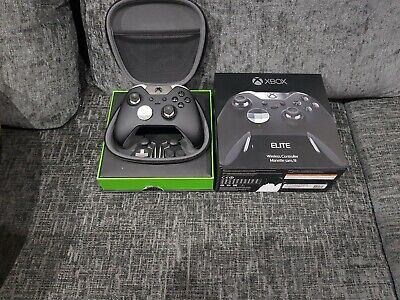 Xbox One Elite Wireless Controller (HM3-00003) complete with box and accessories