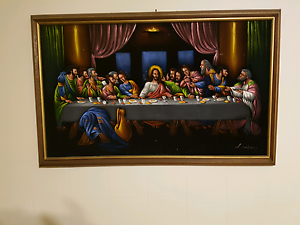 Painting the last supper St Albans Brimbank Area Preview