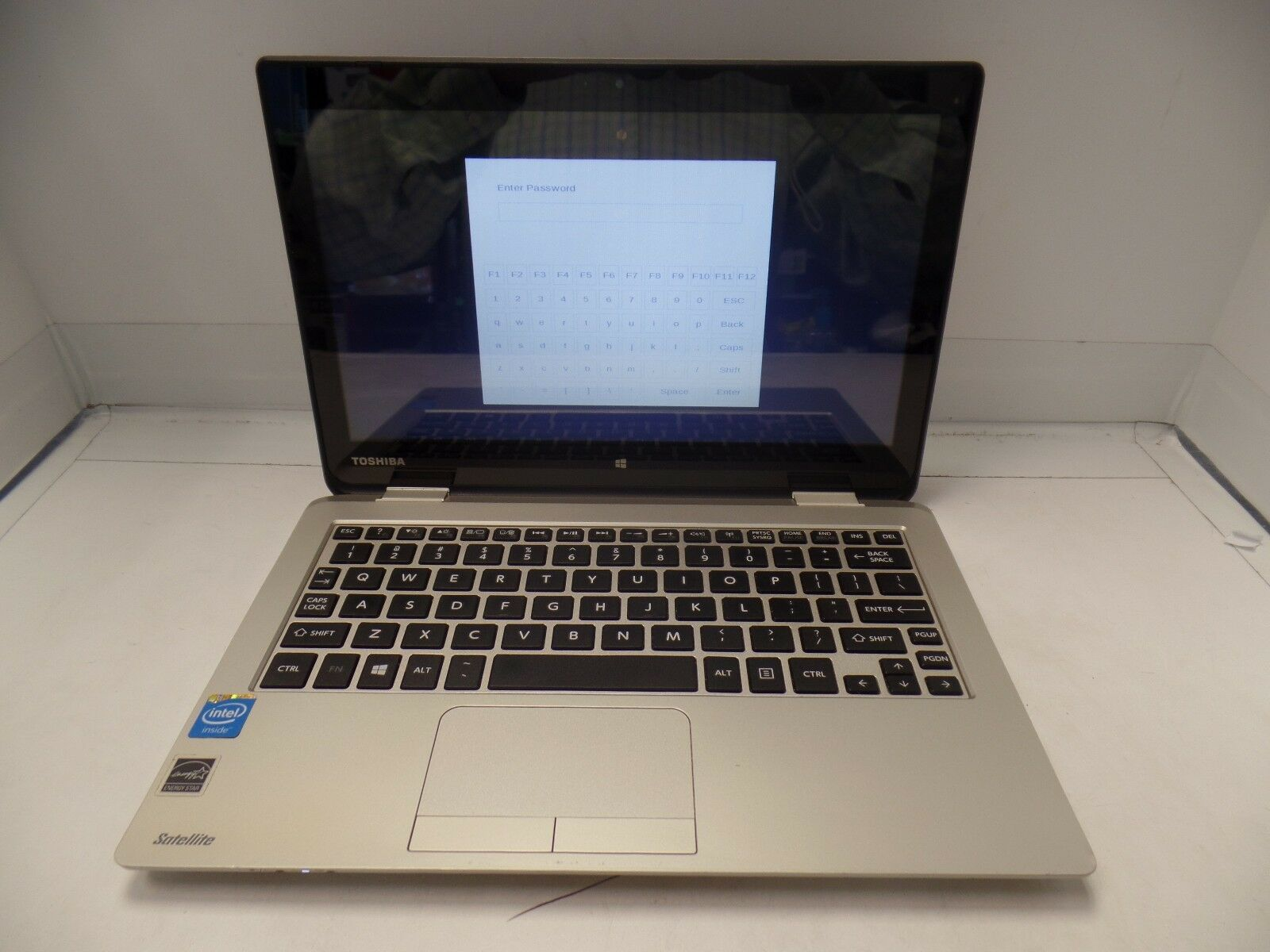 "Toshiba Satellite CL15T-B1204X 11.6"" Celeron N2840 Touch-Screen AS IS BIOS PWD"