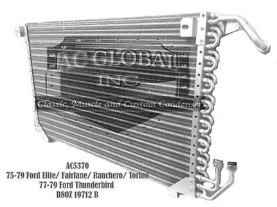 75 76 77 78 79 Ford Thunderbird Torino Mercury Condenser OE# D8OZ19712B AC5370