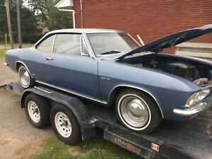 1965 TURBO CORVAIR WITH ALL NEW INTERIOR PARTS