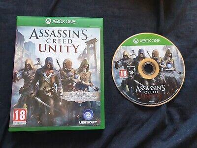 ASSASSIN'S CREED UNITY Microsoft Xbox One Game segunda mano  Embacar hacia Spain
