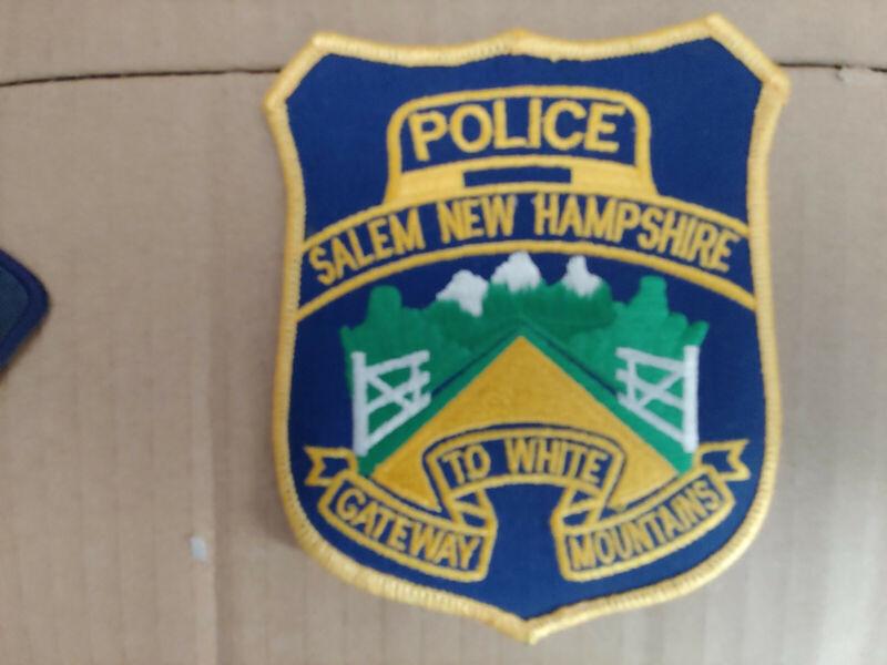 Salem New Hampshire Police Patch