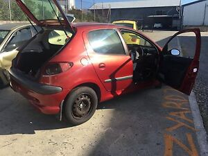 Peugeot 206 Hatchback wrecking for parts Yeerongpilly Brisbane South West Preview