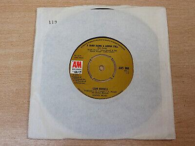 EX- !! Leon Russell/A Hard Rains Gonna Fall/1971 A&M 7