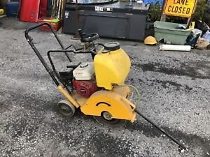 Used Once! Road Cutting Saw with Blade!