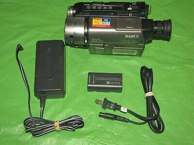 Sony Handycam CCD-TRV43 Hi8 Analog Camcorder - Record Transfer Play Video 8 Tape