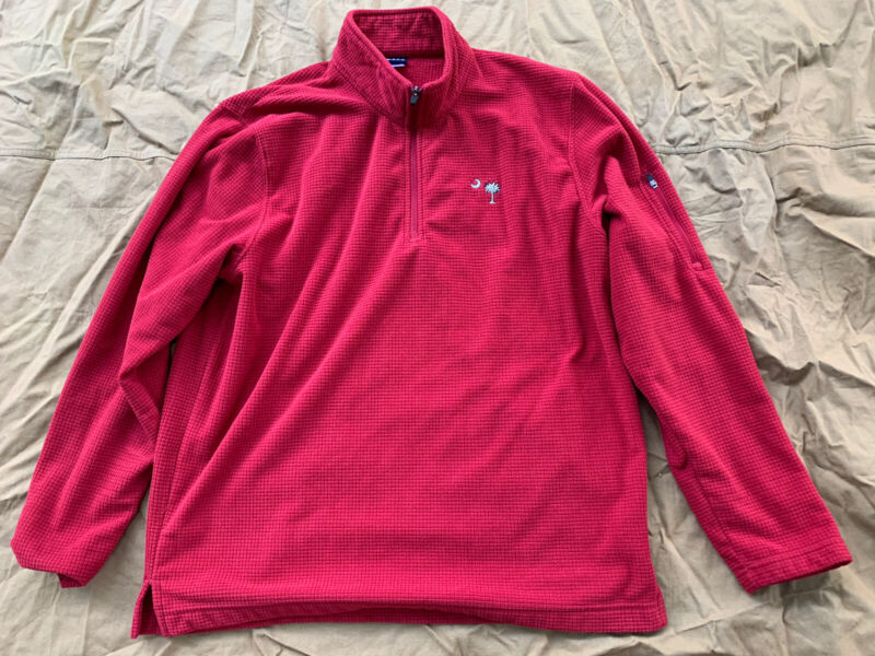 South Carolina/Palmetto Tree Red Sweater. Size: L/XL.