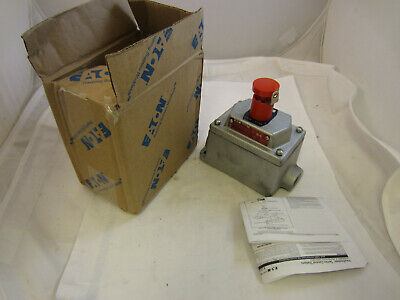 Crouse Hinds Edsc2184-s769 Explosion Proof Emergency Stop Push Button Station