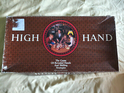 Vintage 1964 LOWE MB High Hand Board Game Who Will Make the High Hand for sale  De Kalb Junction