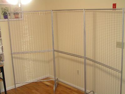 Art Stand Alone Panel Display Trade Show Racks Grid Backdrop New Made In Usa