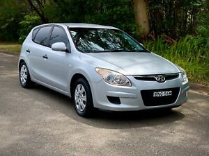 2010 Hyundai I30 hatch manual in great condition low klms Asquith Hornsby Area Preview