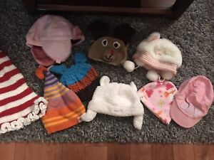 Various Baby / Toddler Hats