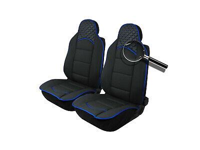 2x Sitzauflage Sitzaufleger Blau Schwarz Autositzauflage Autositz Hochwertig für