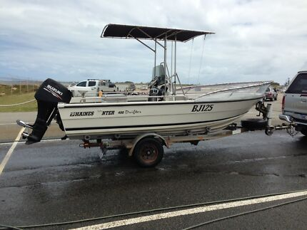 Haines Hunter Drifter 4.9m centre console