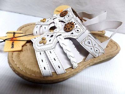 EARTH SPIRIT WOMENS SANDALS  COLOR WHITE LADIES CASUAL SUMMER SHOES