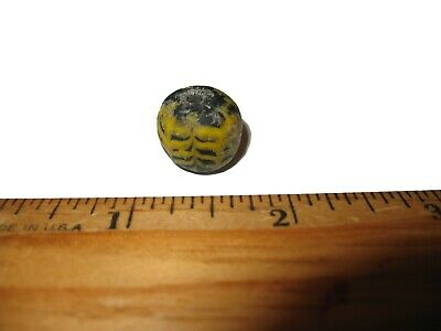 Ancient Roman empire super glass bead large specimen 2000 years old lovely #9
