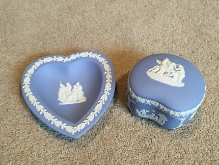 Blue Jasper Wedgewood - 2 pieces