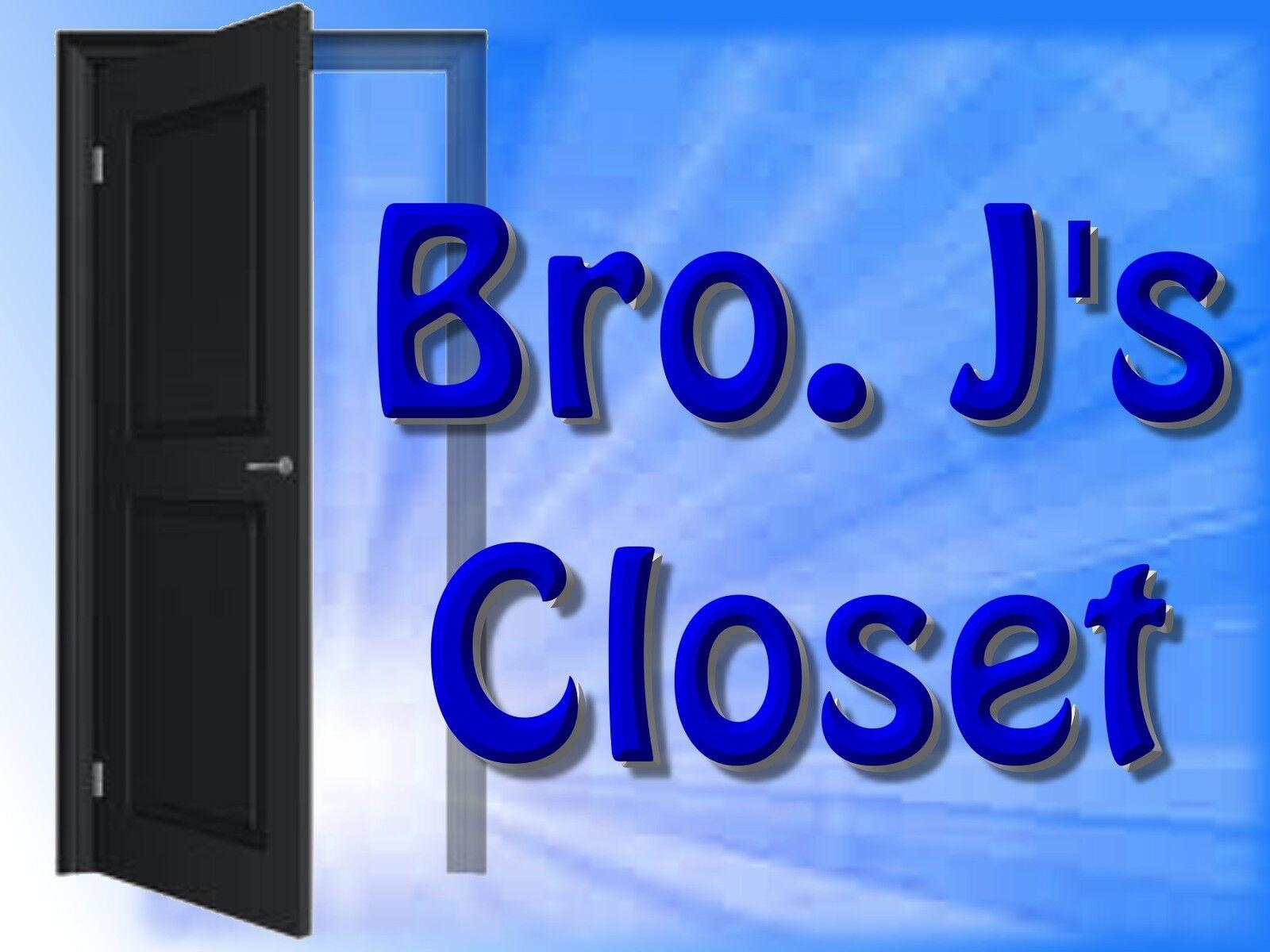 Bro J's Closet