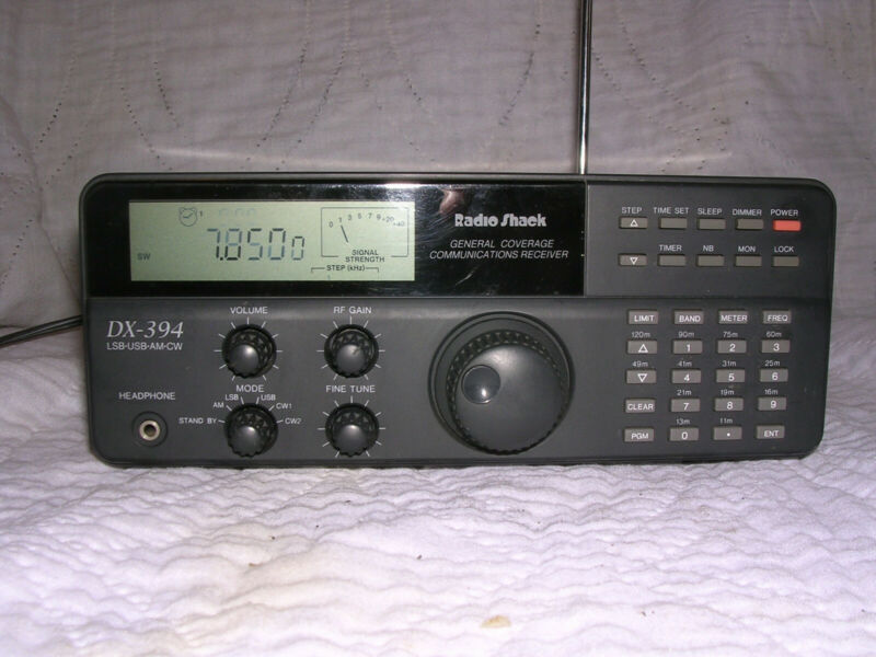 Radio Shack DX-394 General Coverage Communications Receiver, including Shortwave