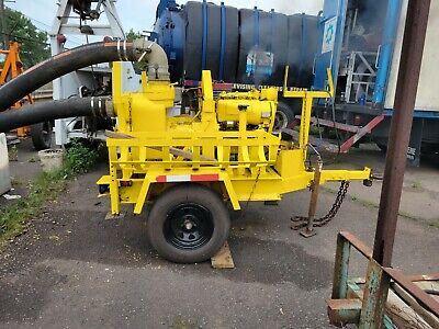 6 Inch Wacker Trash Pump. Excellent Condition Pumps Great. Hoses Available