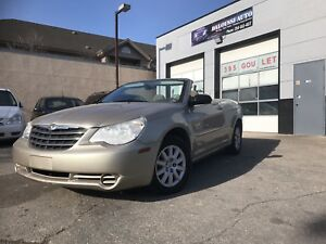 Finance available! Safetied 2008 Chrysler Sebring convertible