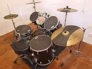 Pearl vision 6 piece drumkit Norman Park Brisbane South East Preview