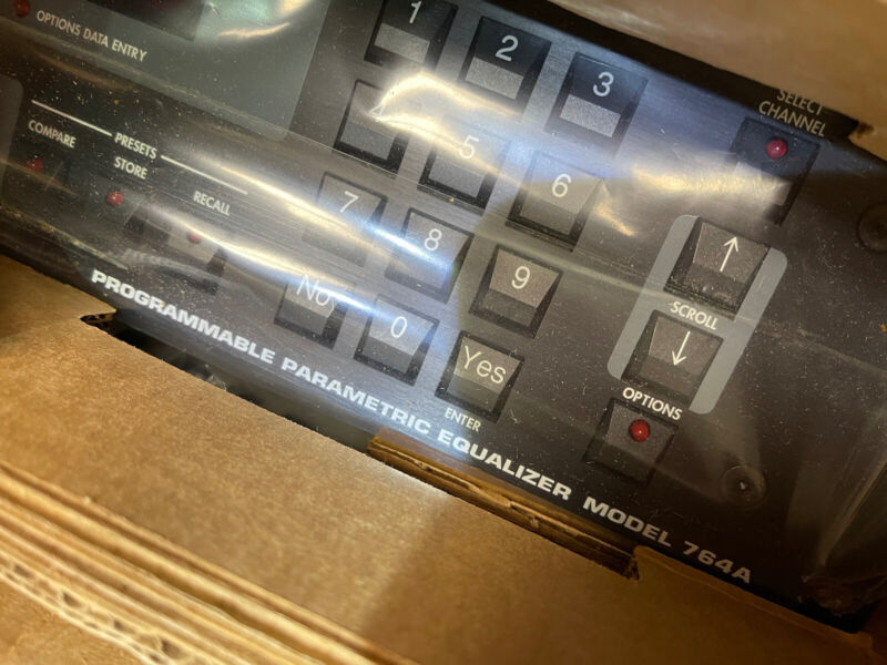 Orban Model 764A Programmable Parametric Equalizer New Old Stock