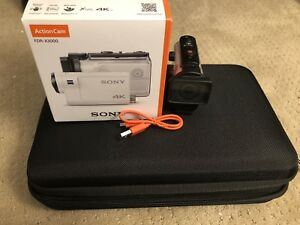 Mint Condition Sony 4K FDR-X3000 - With Case & Mounts
