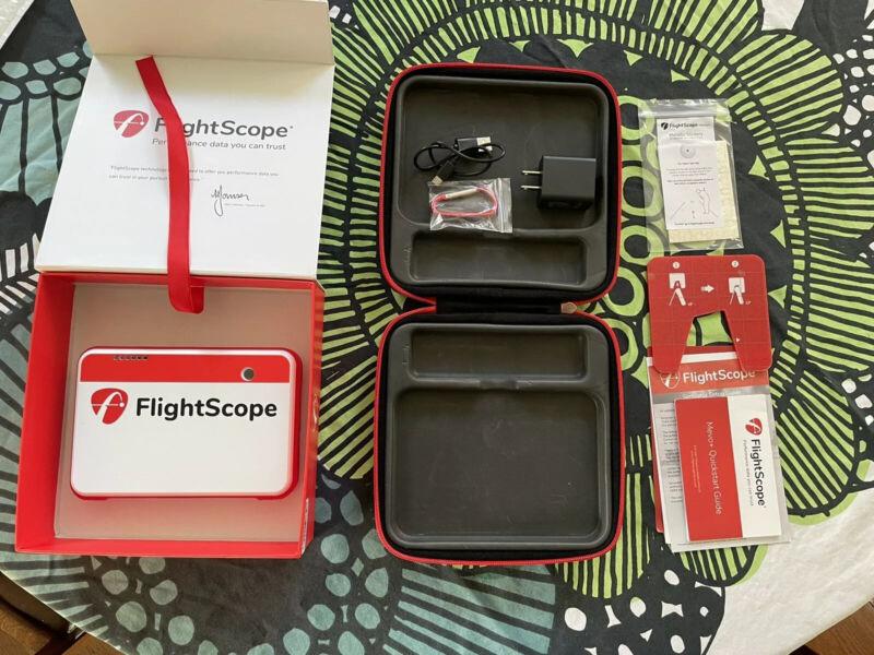 FlightScope Mevo Plus Golf Launch Monitor Simulator (Mevo+)