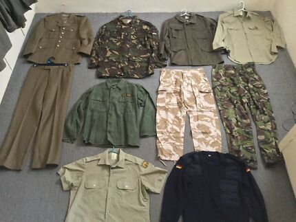 Military clothes and uniform army camo jacket camping
