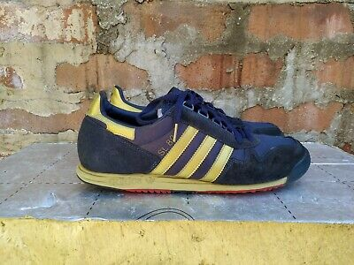 Adidas SL 80 Navy Gold UK 9 Vintage 2010 SL80