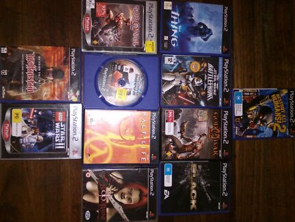 PlayStation 2 games Rocklea Brisbane South West Preview