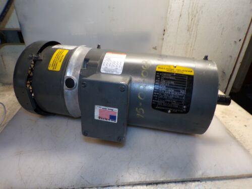BALDOR 2 HP AC ELECTRIC BRAKE MOTOR 145TC 208-230/460 VAC 1735 RPM TEFC VBM3558T