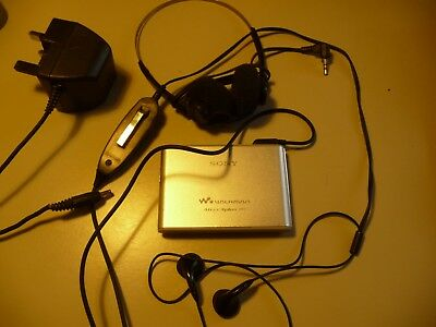 Sony NETWORK WALKMAN NW-HD3 Atrac3plus MP3 + bundle,.... CS1 Mp3-bundle