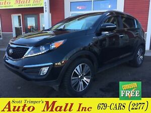 2015 Kia Sportage EX/Leather/Sunroof