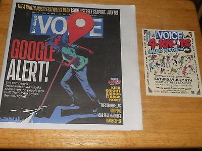 Village Voice 4 Knots Google Shafts Nyc  Kirk Knight  Strumbellas  Girlpool 2016
