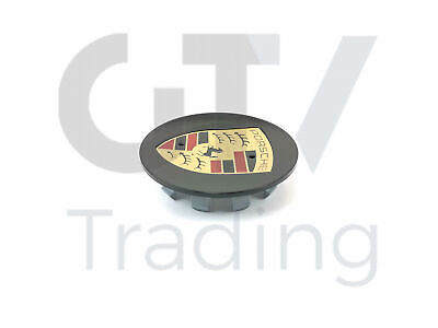 New OEM Porsche 911 Boxster Cayman Silver Center Cap With Full Color 99736130301