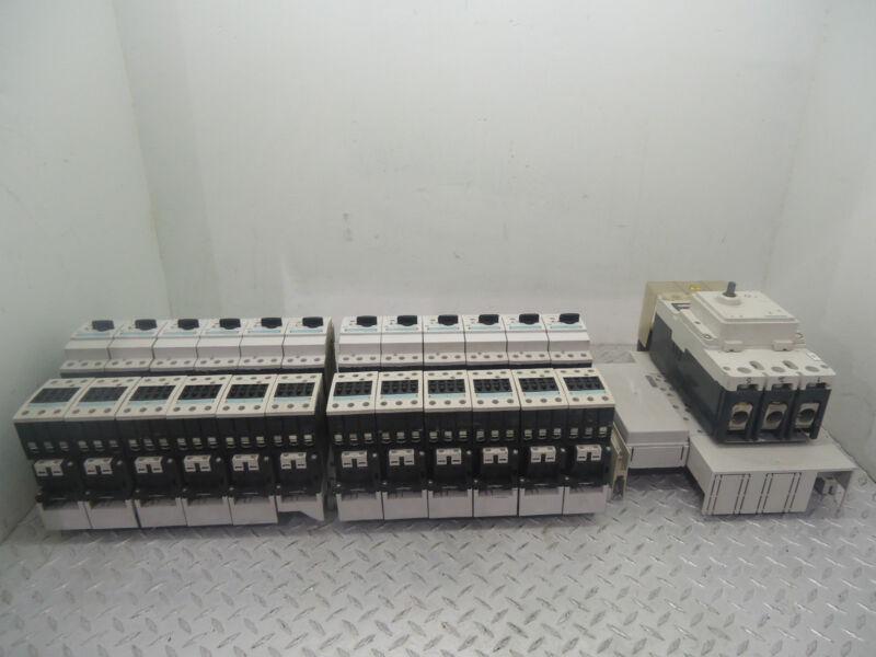 SIEMENS STARTER 3FV95271BK40 W/ 3RT1035-1A CONTACTORS & 3RV1-031-4BA10 BREAKERS