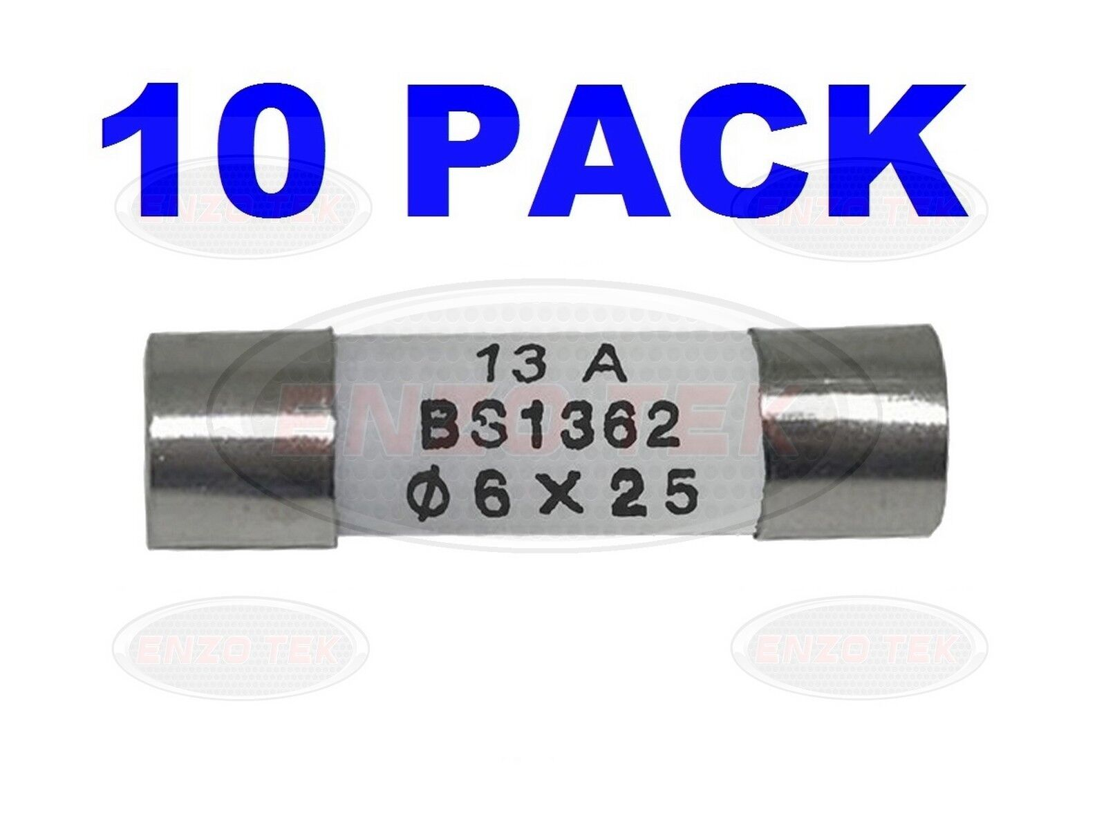 BS1362 Mains *Top Quality! 3 Amp Pack of 6 Domestic Fuses Household fuses