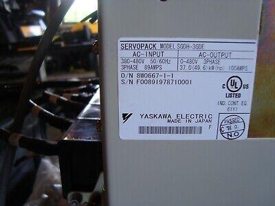 Yaskawa Servopack Sgdh-3gde Excellent Condition