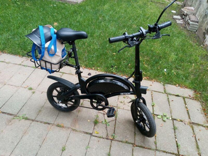 Rear Basket for Jetson Bolt Pro & other bikes