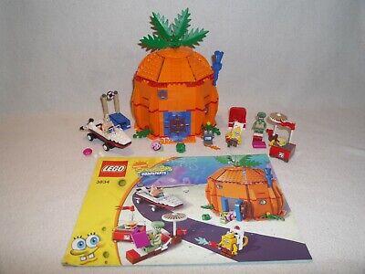 LEGO Set 3834 Good Neighbours Neighbors at Bikini Bottom SpongeBob FREE Shipping