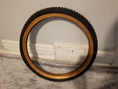 "2 BMX Classic MX 20x2.125 Black Vintage Tire Kids Diamond Balloon Tyre 20/"""